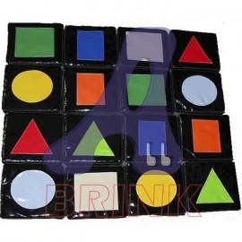 Jogo da Memória formas Geometricas
