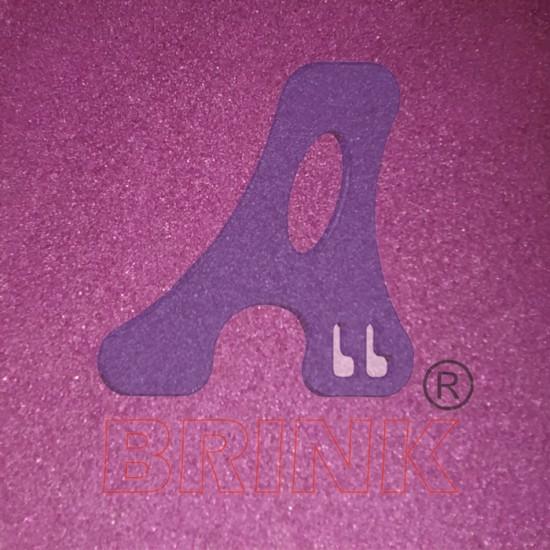 Areia colorida tratada Violeta