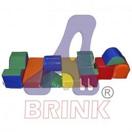 Conjunto de Cubos Pequeno 9 peças - 44x19x19