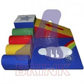 All Play 7 peças - baby play - centro recreativo 7 peças