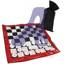 Jogo de Dama 120x120 Média