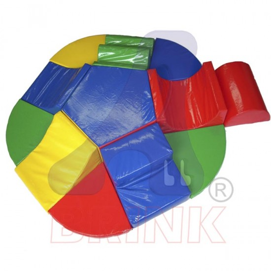 Playground baby espuma - Centro de atividades 12 peças